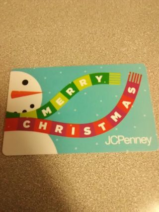 50$ J.C.Penny Gift Card