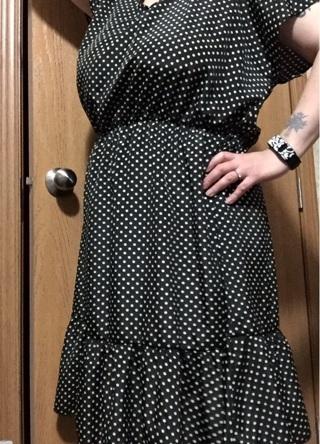 NWT 2X rockabilly style polka dot dress