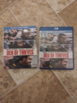 Den of Thies Blu-Ray & DVD w/ slipcover *NO DIGITAL*