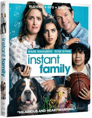 Instant Family Ultraviolet Digital HD Code BRAND NEW! NEVER USED! Mark Wahlberg Rose Byrne