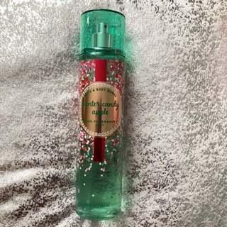 Bath&BodyWorks Winter Candy Apple Fragrance Mist ~~~Land of Sweets Limited Edition Bottle~~~