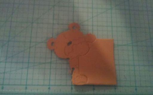 Bear w/sign