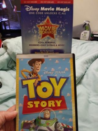 DISNEY CODE ONLY FOR TOY STORY