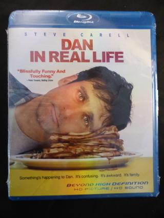 Dan In Real Life - Steve Carell - Blu-ray - NEW in Shrinkwrap
