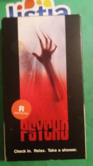 VHS movie  psycho  free shipping