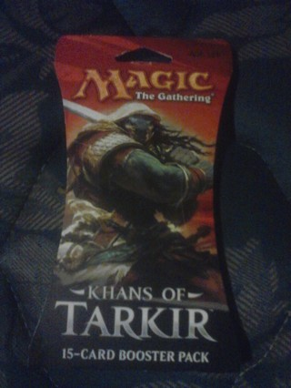 New Khans of Tarkir Card Pack MTG