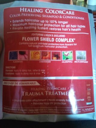 L`ANZA Trauma Care Full Hair Treatment Pack