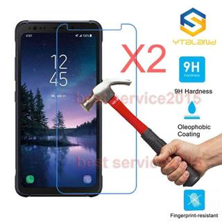2-PACK Tempered Glass Screen Protector Film for Samsung Galaxy S6 S7 S8 S5Active