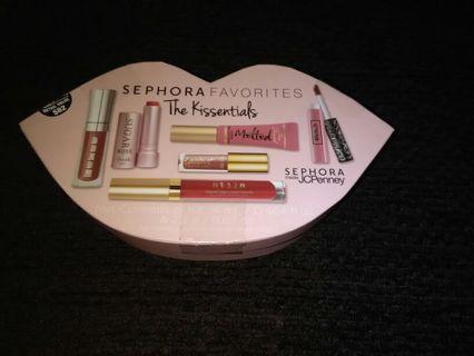 Sephora Favorites...The Kissentials..an 82.00 retail value!!