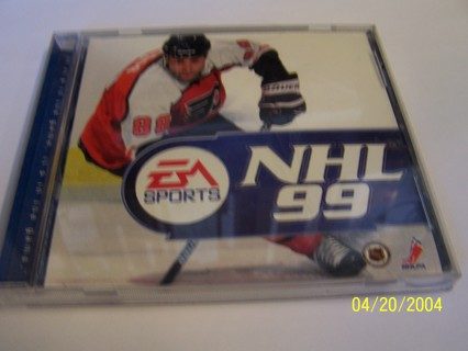 EA Sports NHL 99 pc game windows 98 and 95