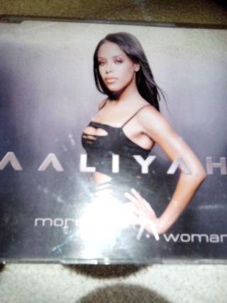 Aaliyah More Than A Woman CD Single
