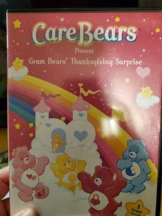 CARE BEARS, GRAM BEARS' THANKSGIVING SURPRISE