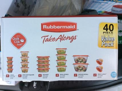 Rubbermaid 40 Piece Take Alongs