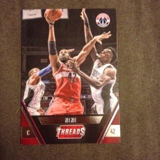 2016 Panini Threads #132 Washington Wizards Nene Nené Basketball Card