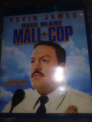 Paul Blart Mall Cop DVD and digital copy in case excellent condition