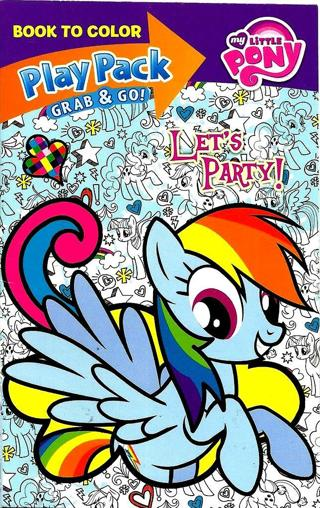 ❤️ ❤️ ❤️ ❤️☆ミ☆SMALL COLORING BOOK AND STICKERS MY LITTLE PONY USE YOUR OWN CRAYONS☆ミ☆彡❤️ ❤️ ❤️ ❤️