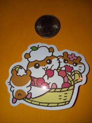 Kawaii big Cute vinyl sticker no refunds regular mail only Very nice