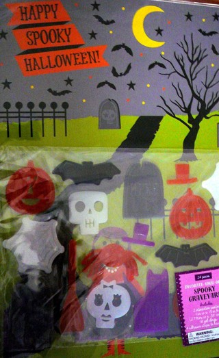 Decorate your Own Spooky Grave Yard Kit