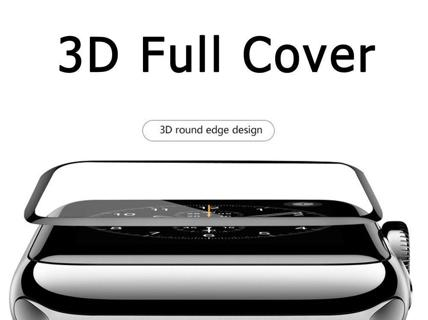 Apple Watch Series 2 Tempered Glass Screen Protector 3D Full Edge 38/42mm iWatch