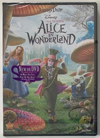 Alice In Wonderland (Johnny Depp) DVD Movie - Brand New Factory Sealed!