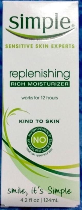 SIMPLE Skin Experts Rich moisturizer 4.2 oz NEW