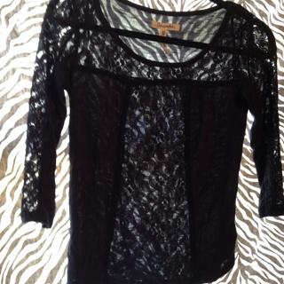 AEROPOSTALE Lace Shirt. XS