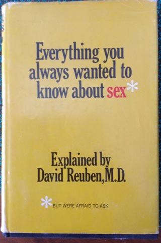 1st Edition Everything You Always Wanted to Know About Sex *But Were Afraid to Ask
