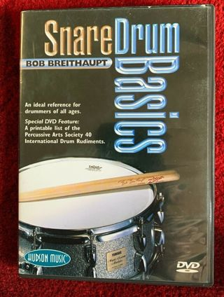Snare Drum Basics Learn How To Play Lessons Bob Breithaupt Video DVD