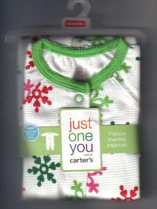 9300ec9ff Free  Just One You by Carters Boys 1 piece Thermal Pajamas Sleepwear ...