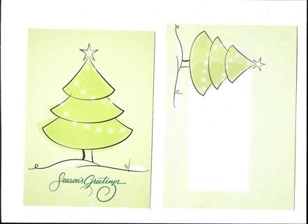 Christmas Card Unused With Envelope