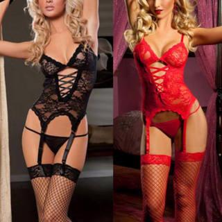 Women Lace Sexy-Lingerie Nightwear Underwear G-string Babydoll Sleepwear