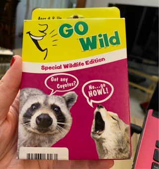 Brand New Tree-Free Greetings North American Wildlife Go Wild Card Game for Ages 4 and Up (KG13403)