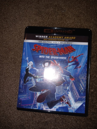 Spider-Man: Into the Spider-Verse 4K & Blu-Ray - No Digital