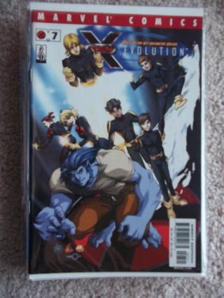 X-MEN: EVOLUTION #7 2002