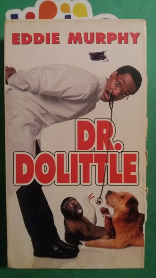 VHS  movie  dr. dolittle  free shipping