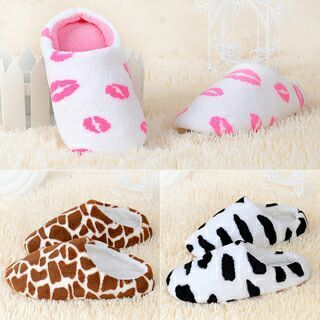 Soft Non-Slip Cotton Slippers