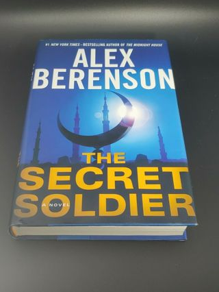 ✹The Secret Soldier by Alex Berenson ,Hardcover
