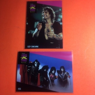 Kiss & Ozzy Cards!