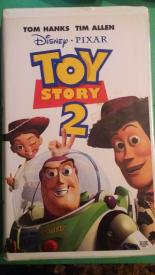 vhs toy story 2 free shipping