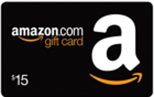 $15 Amazon Gift Card - Digital Delivery - 018315