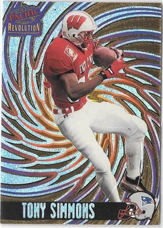 1998 Revolution - Tony Simmons - Rookie