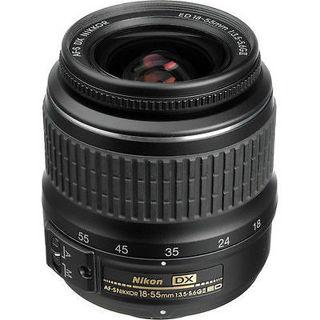 Nikon DX Zoom Nikkor 18-55mm F/3.5-5.6 ED AF-S G II Lens NEW