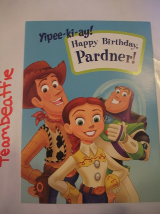 Free Kids Birthday Card Toy Story Special 3d Pop Up Card Must