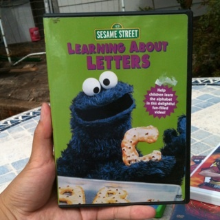 Free Sesame Street Learning About Letters Dvd Cookie