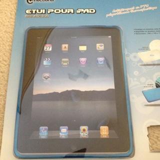 New Blue Ipad Hard Case