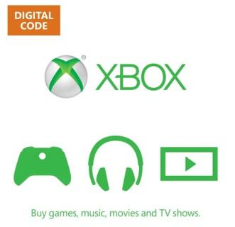 1 Xbox 5.00$ E Gift Card Online Game Code xbox 360 x-box one Egiftcard gift cardMicrosoft $5
