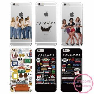 Friends TV Central Park Soft Phone Back Case Cover iPhone 5 SE 6 7 8 X  S Plus