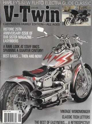 V-Twin - Number 276 - June 1996