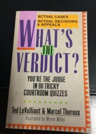 What's The Verdict