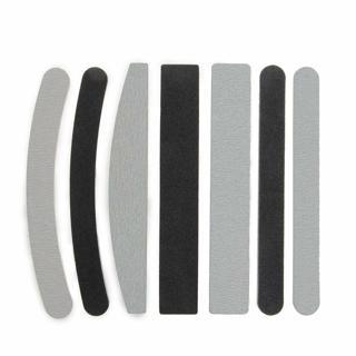 7x Lime Dritte Curve 100/180 per Ricostruzione Unghie Nail Art HK